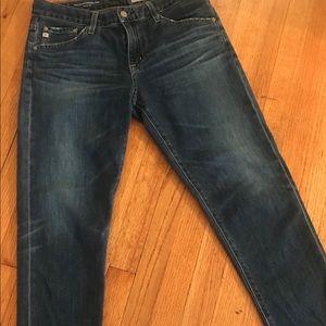 AG-Ex-Boyfriend Slim-slouchy slim Jeans size 27